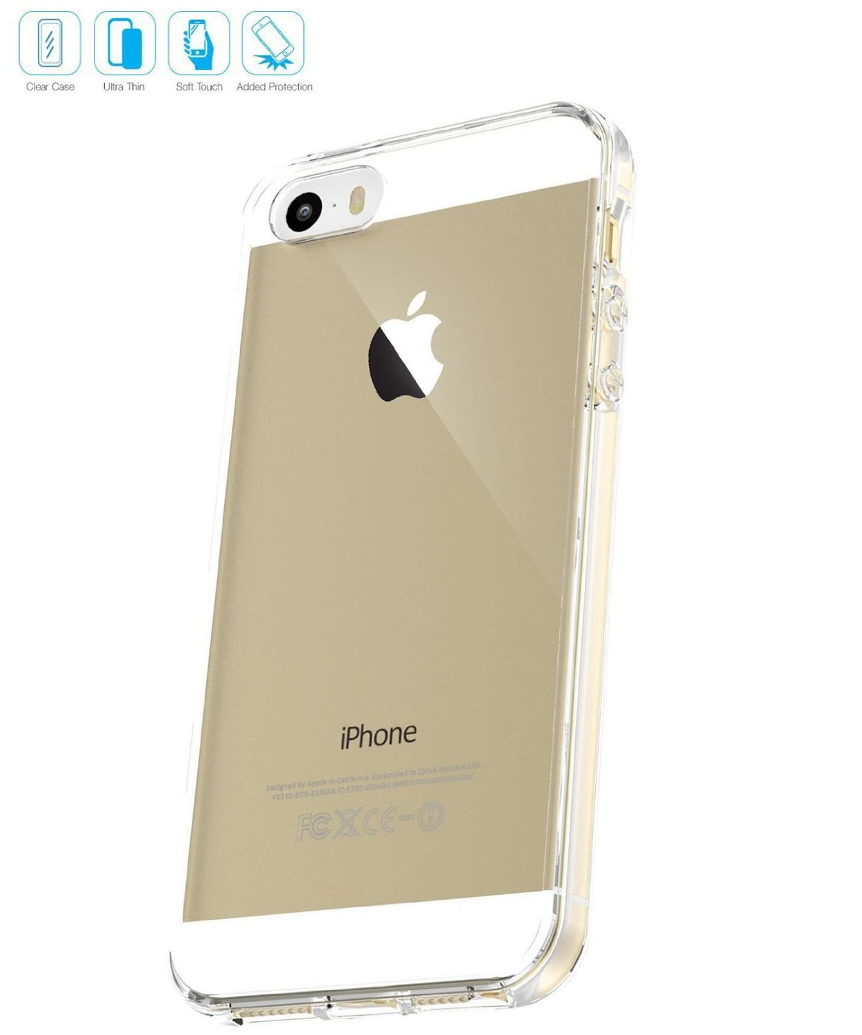 Iphone 5 clear case