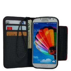 Samsung Galaxy S4 Mini, Colorful, Pu Leather Wallet, Flip Case