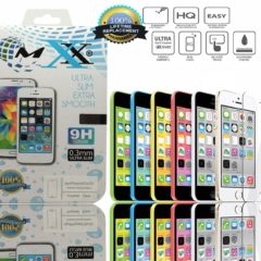 Iphone 5s, 5, 5g, 5c Shatterproof Premium Tempered Glass Screen Protector