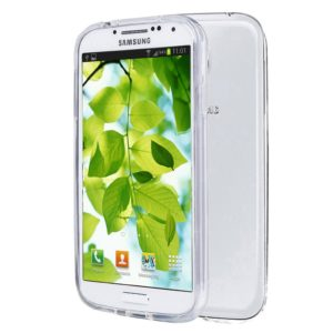 S4 Case, MXx Samsung Galaxy S4 Case Soft Clear Shock-absorption Bumper for Samsung Galaxy S4, S IV, i9500 – 1 Pack. Retail Packaging (Clear)
