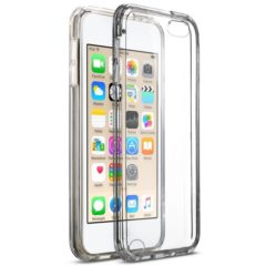 MXX iPod Touch 5th And 6th Generation TPU Slim Clear Case With Intergrated Shock Absorbing Soft TPU Bumper Easy Install for Apple iPod 6/iPod 5 Touch